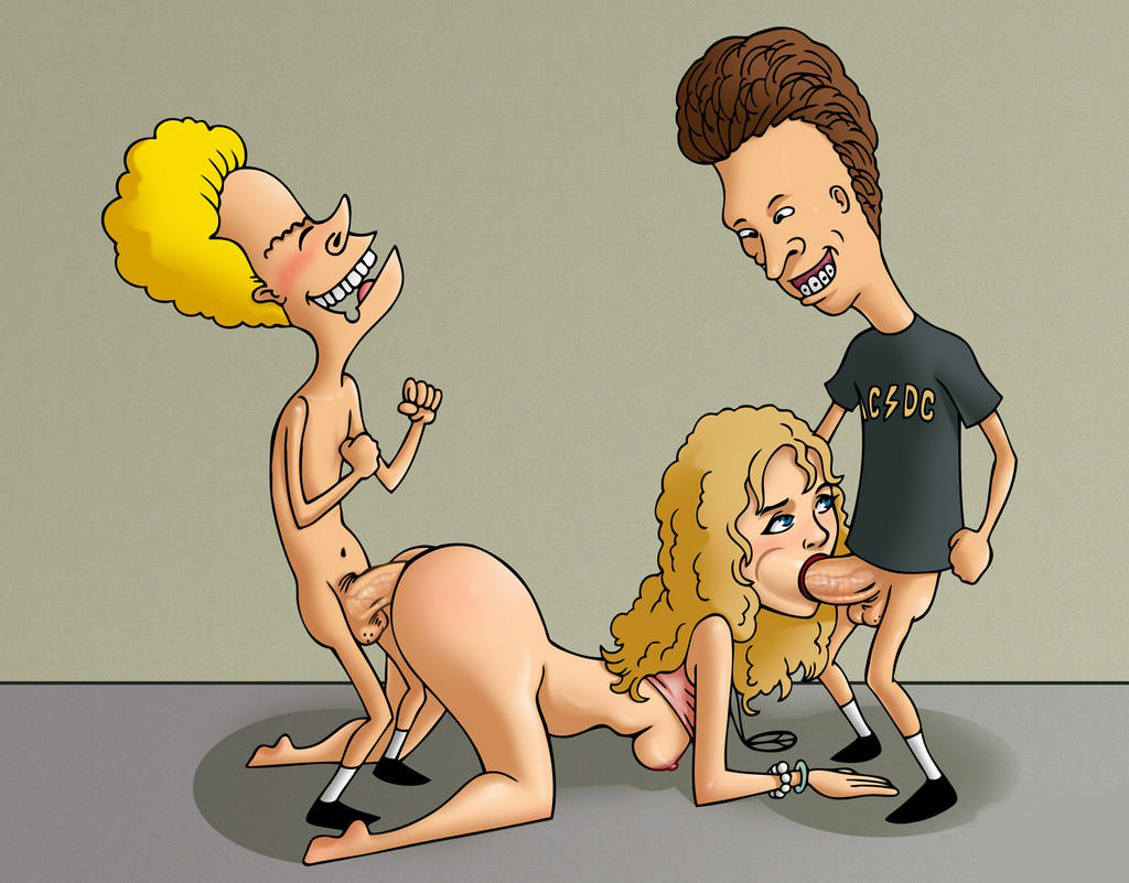 hentai head and Beavis butt