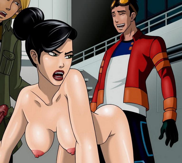 Порно секс генератора рекса с холидей видео
