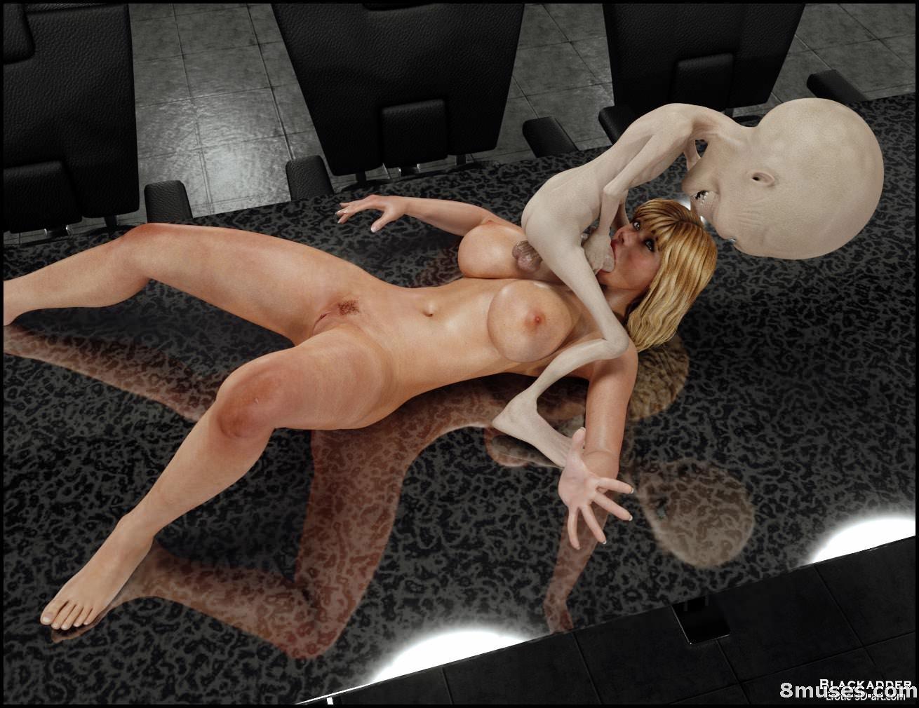 инопланетянином с фото секс