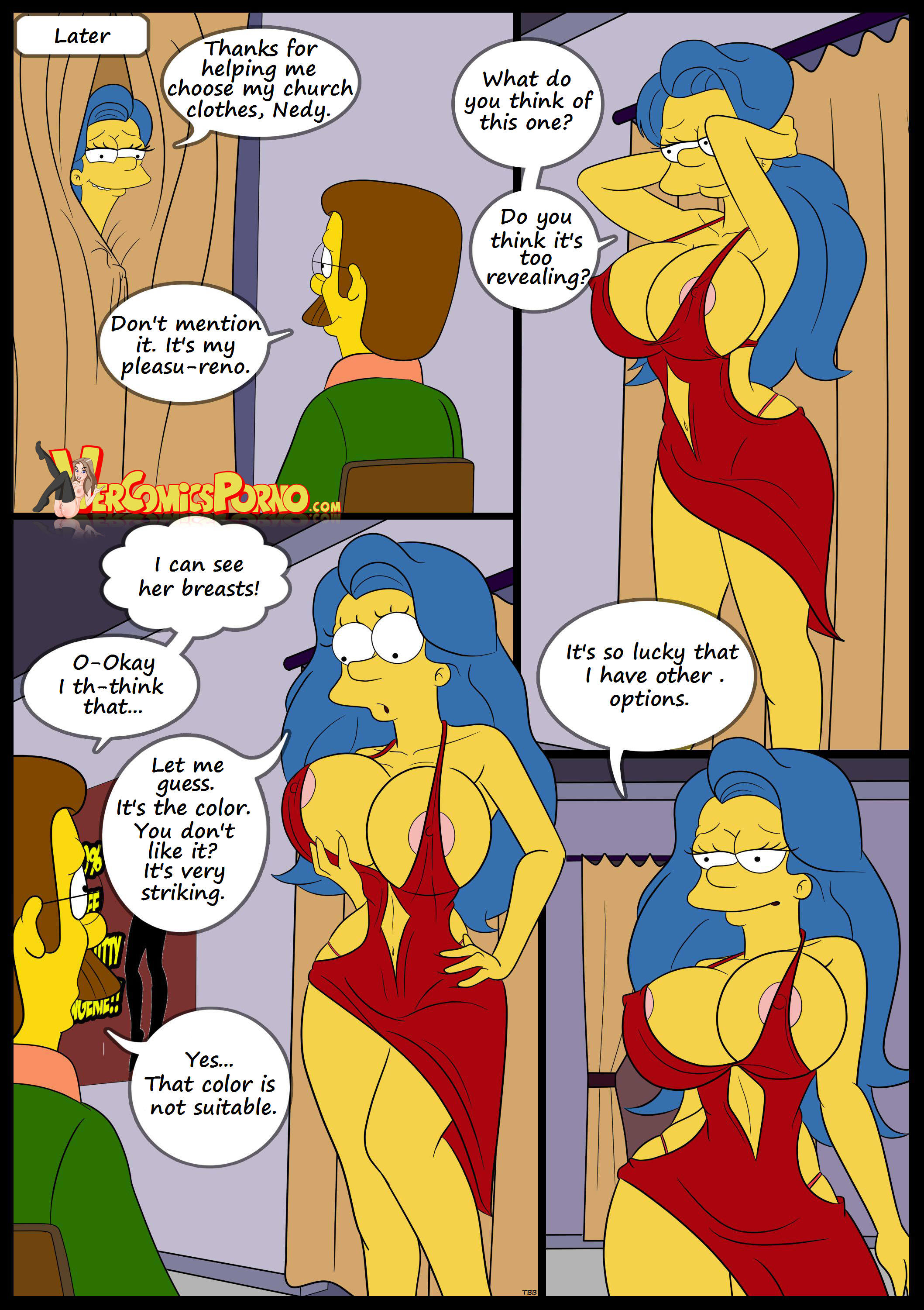 Thanks The simpsons porn comix