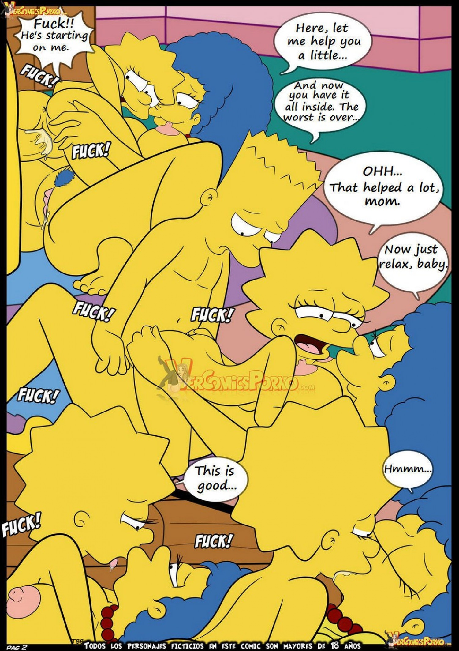 marge simpson nackt bart
