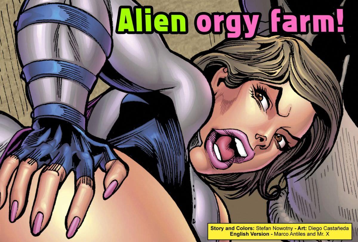 Alien Porn Comics Excellent Porno