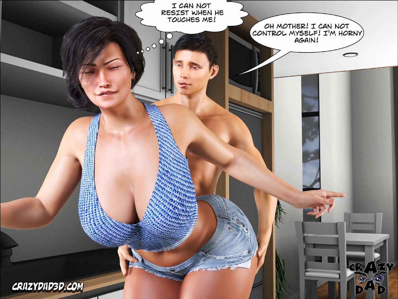 3d Toon Mom - Crazy Dad] Mother - Desire Forbidden 6 - 3D, Porn comics - world-hentai.com