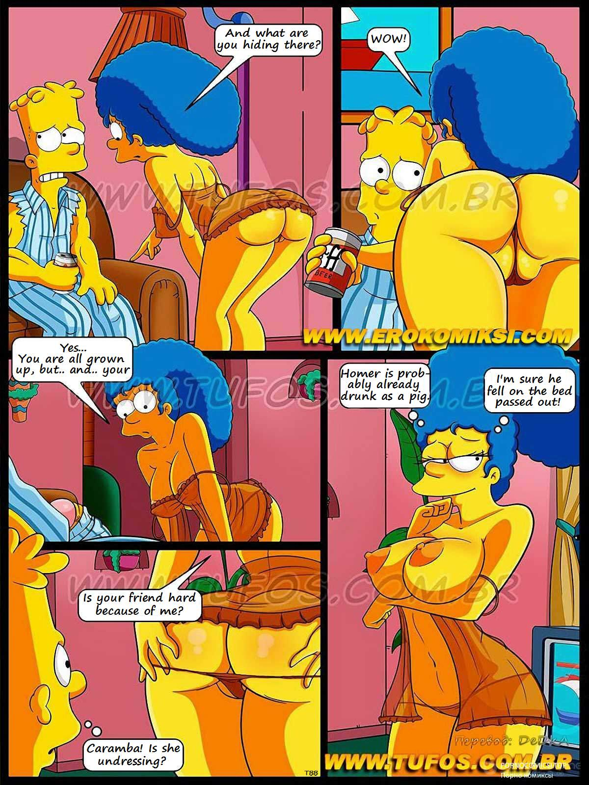 Animal Husbandry Simpsons Porn Comics football and beer - simpsons online at world-hentai