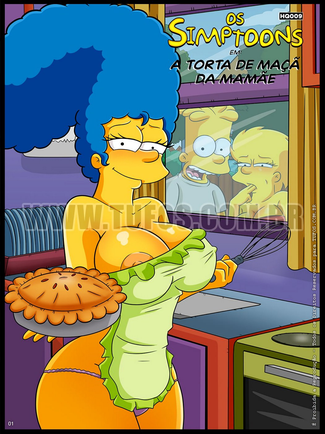 3D Porno Simpson the simpsons 9 - mom's apple pie - simpsons online at world