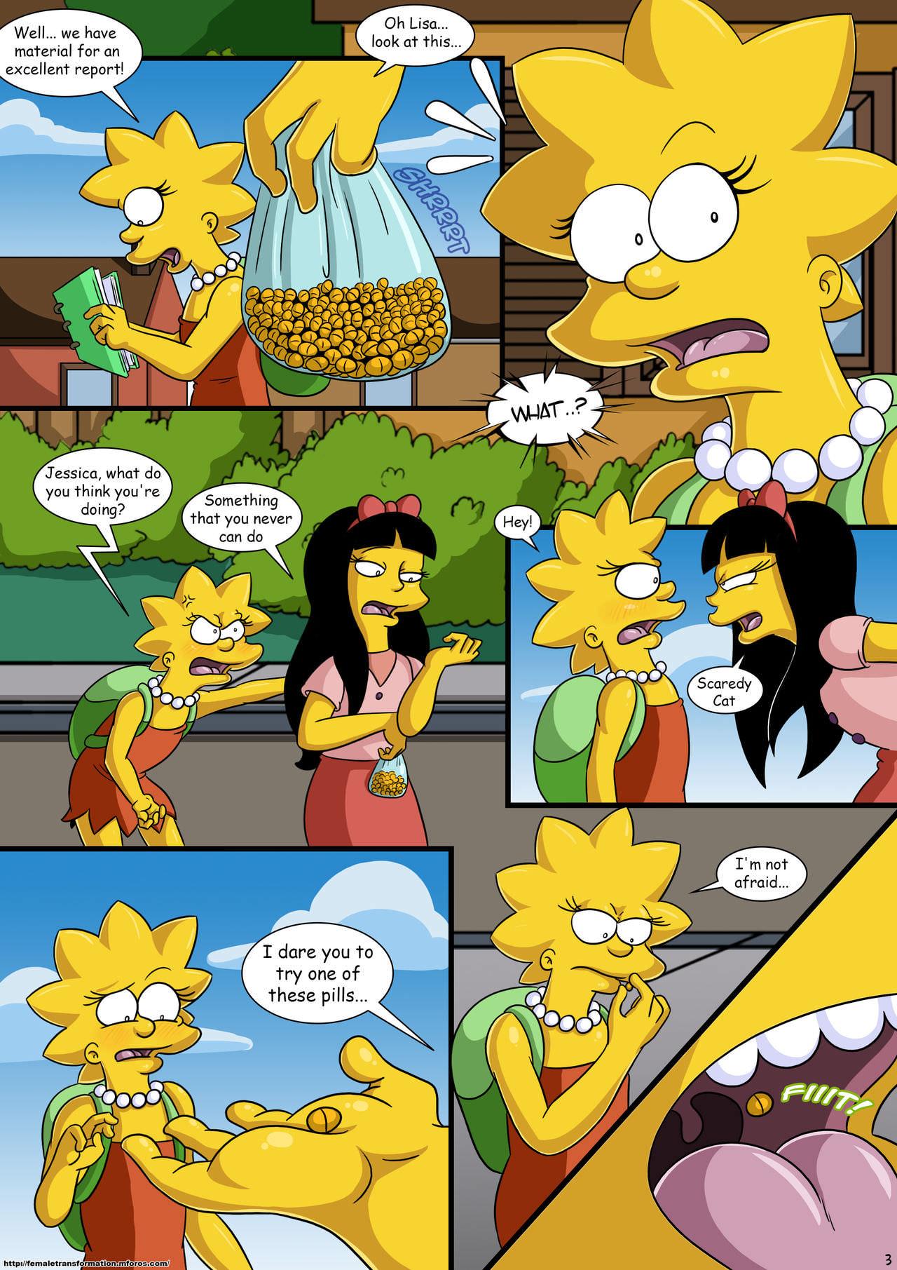 Treehouse of Horror 3 - Simpsons - world-hentai.com
